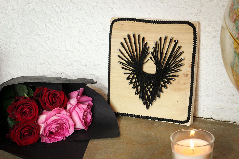 diy un coeur et des clous lady biche. Black Bedroom Furniture Sets. Home Design Ideas
