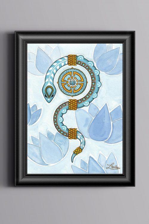 print-serpent