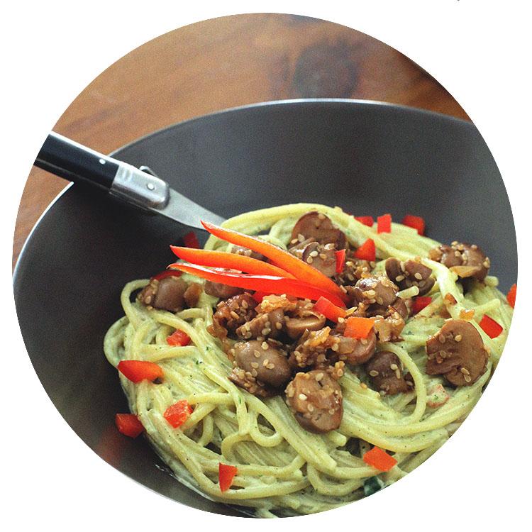 Lady-Biche-spaghetti-basilic-poivron-5