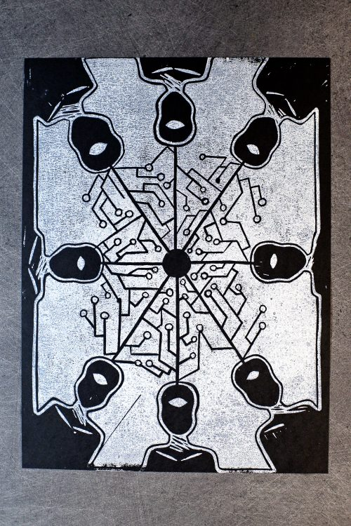 lady-biche-heliopolis-linogravure-connexion